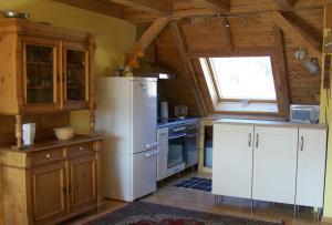 Küche/Küchenzeile in der Unterkunft Urlaub bei Freunden