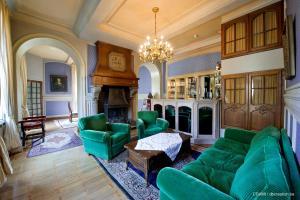 Zona de estar de Chateau d'Hassonville