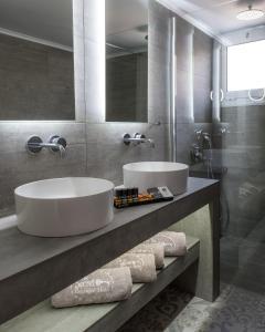 A bathroom at The Secret Boutique Hotel