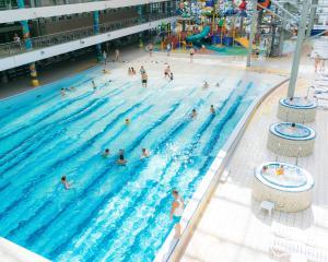 The swimming pool at or near Landhaus Hotel