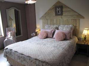 Un ou plusieurs lits dans un hébergement de l'établissement L'Ecurie