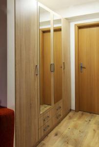 Ein Badezimmer in der Unterkunft Pension Zelený strom