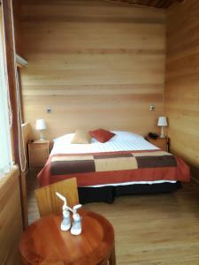 プエルト チコ オテルにあるベッド