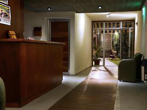 Лобби или стойка регистрации в Nuna Ayni Apartments