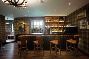 The lounge or bar area at Meldrum House Hotel Golf And Country Estate