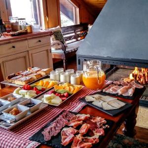 Opciones de desayuno disponibles en El Xalet de Taüll Hotel Rural