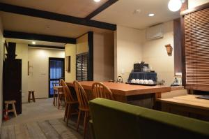 A restaurant or other place to eat at Kohaku