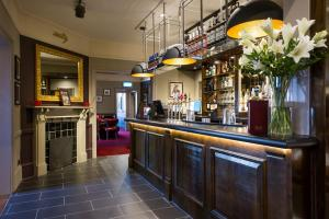 The lounge or bar area at Innkeeper's Lodge Maidstone