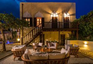 Restaurant ou autre lieu de restauration dans l'établissement Lemuria Manor, Wine Dark Sea Villas
