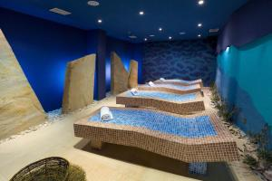 A bed or beds in a room at Hotel Sol Umag for Plava Laguna