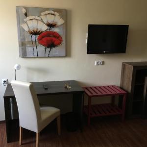 TV/Unterhaltungsangebot in der Unterkunft Hotel-Restaurant Buger Hof