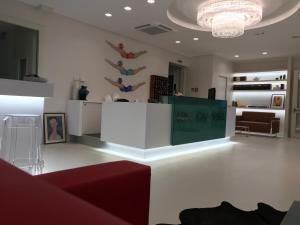The lobby or reception area at Hotel Calypso- Rimini Marina Centro