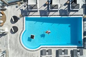 A view of the pool at Mykonos No5 Luxury Suites & Villas or nearby