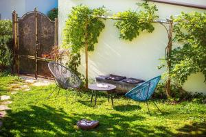 Een tuin van Apartmaji Zenja