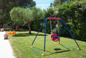 Children's play area at Hotel Villa Aurora