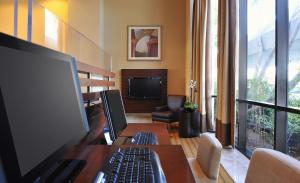 A television and/or entertainment center at Sheraton Mission Valley San Diego Hotel