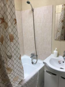 Ванная комната в Отель Агат