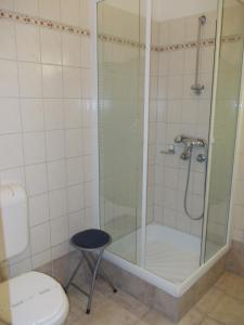 A bathroom at Hotel Ovit