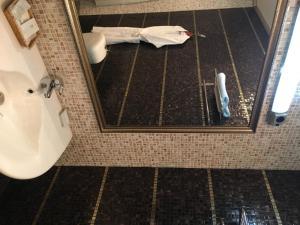 Ванная комната в Отель Барракуда