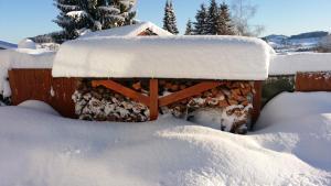 Gästehaus-Einkehr during the winter