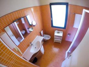 A bathroom at Hotel Club Marispica