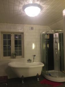 Et bad på Bjørklygården