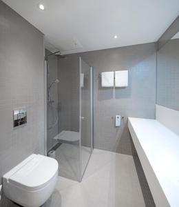 Łazienka w obiekcie Ydalir Hotel