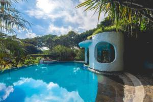 The swimming pool at or near Finca Rosa Blanca Coffee Farm and Inn
