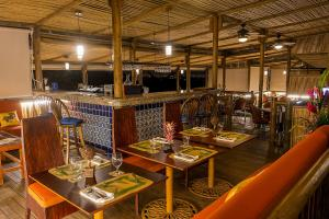 A restaurant or other place to eat at Finca Rosa Blanca Coffee Farm and Inn