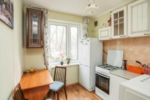 Кухня или мини-кухня в BestFlat24 Apartament on VDNH