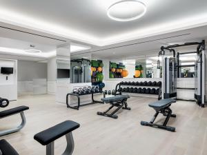 The fitness center and/or fitness facilities at The Langham, New York, Fifth Avenue