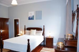 Uma cama ou camas num quarto em Solar de Boaventura