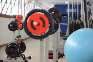 The fitness centre and/or fitness facilities at Piazza Navona Porto Alegre by Intercity