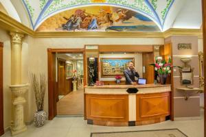 Lobby/Rezeption in der Unterkunft Hotel Forte
