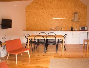 Área de jantar no hotel