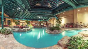 The swimming pool at or near Paragon Casino Resort