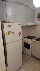 Cuisine ou kitchenette dans l'établissement Iréne Koukaki