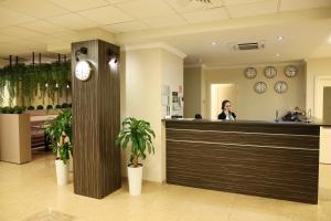 Лобби или стойка регистрации в Отель Жигулевская Долина
