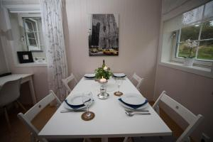 A restaurant or other place to eat at Apartment at Ranheim