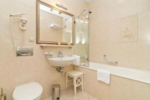 Ванная комната в Отель Традиция