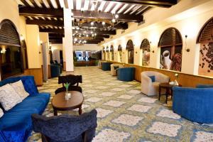 O lounge ou bar de Al Balad Inn Al Mishkat