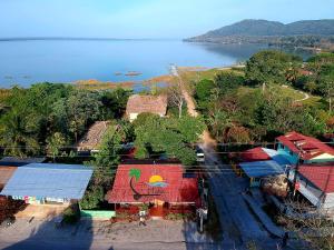 A bird's-eye view of Sun Breeze Hotel