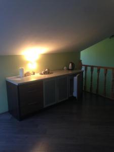 Кухня или мини-кухня в Усадьба «Куркуля»