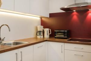 Küche/Küchenzeile in der Unterkunft Residence Gruberhof