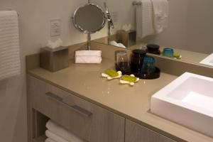 A kitchen or kitchenette at Hyde Resort & Residences