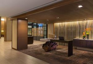 The lobby or reception area at Grand Hyatt Denver
