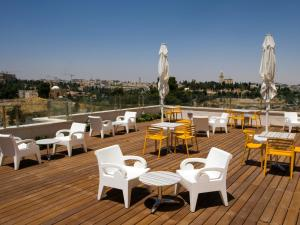 A restaurant or other place to eat at Dan Boutique Hotel Jerusalem
