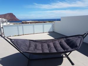 A balcony or terrace at Vista Montaña Roja Medano