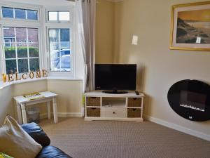 A television and/or entertainment center at Oakdene