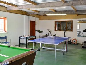 A pool table at Wheathill